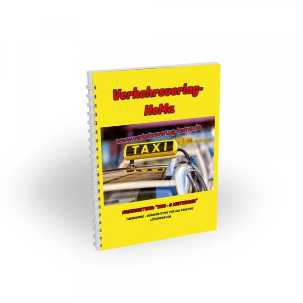 Lösungsbuch Taxi & Mietwagen